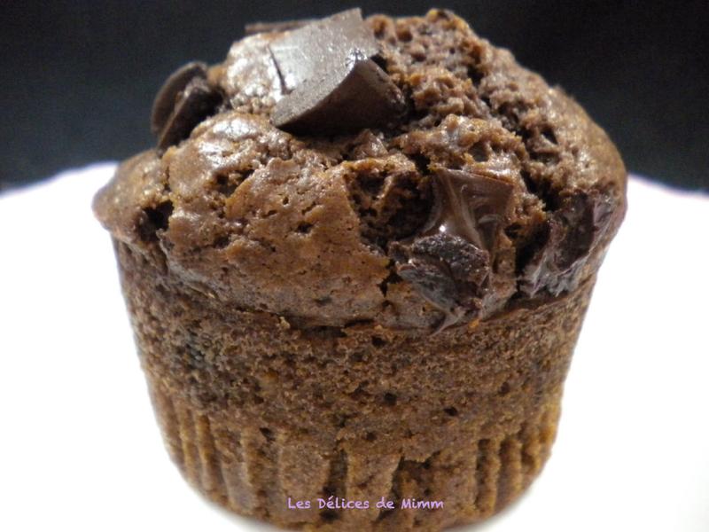 Muffins américains au chocolat super moelleux 5