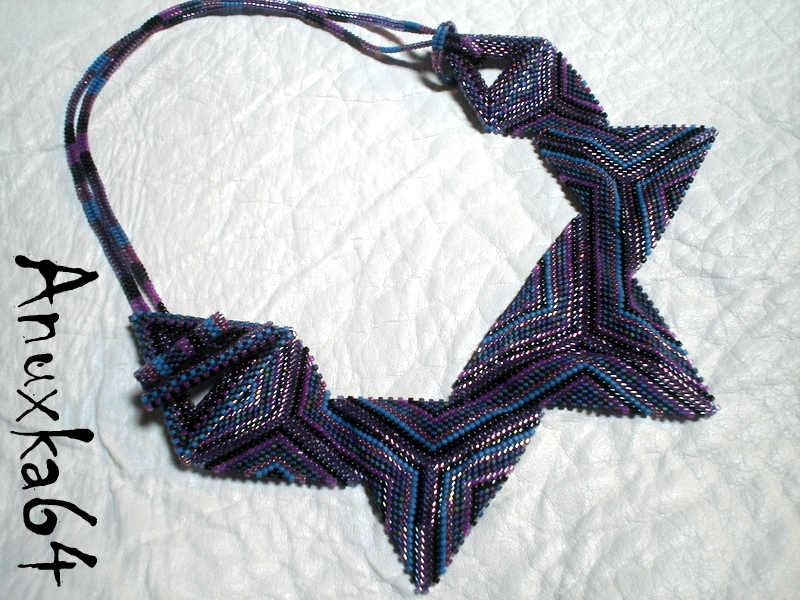Triangle bleu...