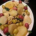 Tajine aux olives tapinambour et citron confit