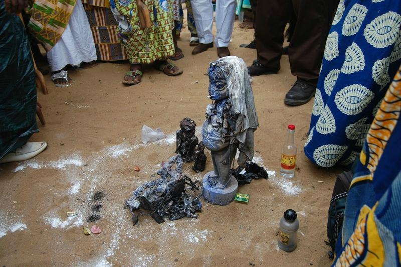 VAUDOU GAMBABA DE RICHESSE 7 fete du vodoun Ouidah le fetiche est le vodoun