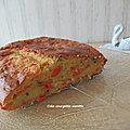 Cake courgette-carotte
