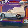 La Volkswagen Siku <b>Pickup</b> Truck des années 80, dans son emballage d'origine !