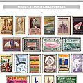 France - vignettes - foires-expositions diverses (213 pièces).