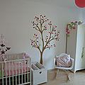 Voici la chambre de ...charlotte, née le 2 août dernier !