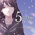 5 cm per second. 1