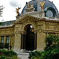 Dans les Jardins du Petit Palais.