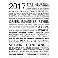 2017 être