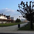 Place de la République, face au Palais Ducal
