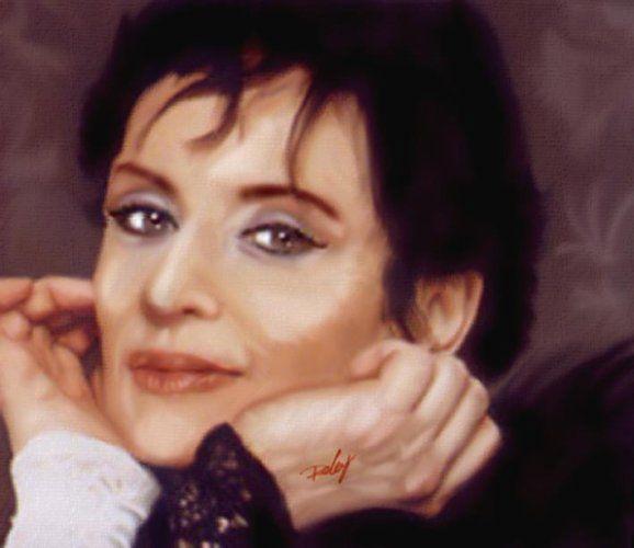 Barbara portrait réalisé par Deberg canalblog