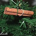 décoration de <b>Noël</b> thème sapin naturel 2