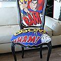 Chaise terminée Superman 01