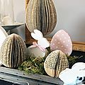 Easter Paper Eggs2 Côté Passion