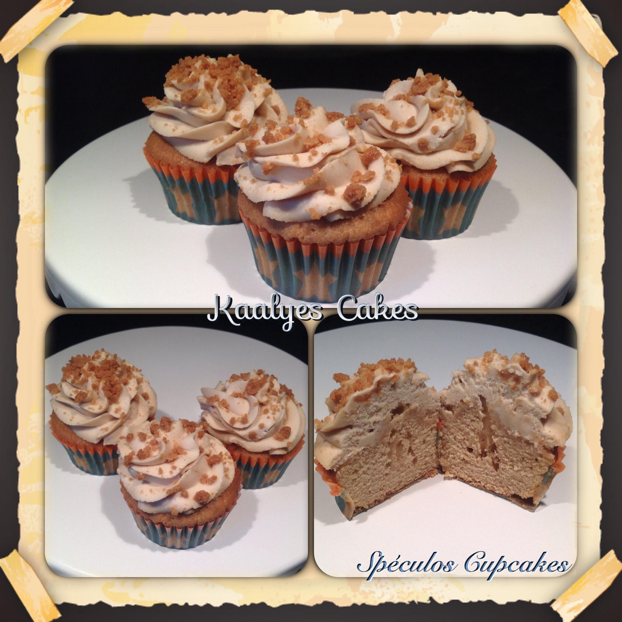 Cupcakes Spéculos