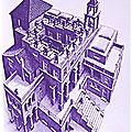 1960 - m. c. escher est-il le precurseur de l'art psychedelique ?