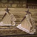 Décorations de noel : les petites maisons
