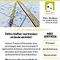 Travaux de rénovation à Bordeaux lac 33, en Gironde