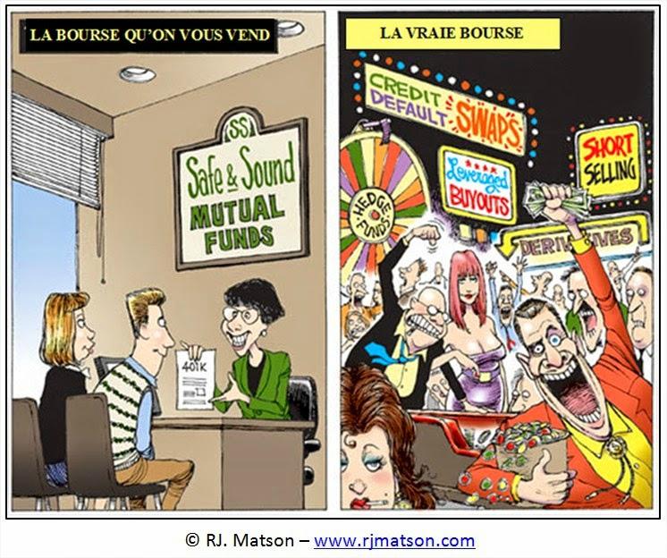 econmie assurance banque humour