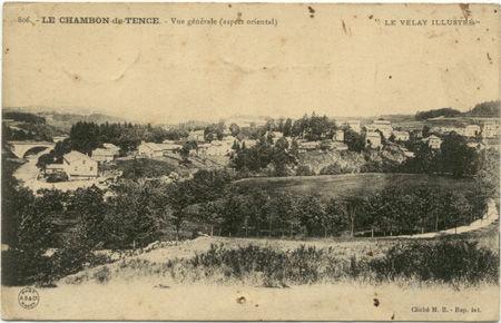 43 - LE CHAMBON DE TENCE - Vue générale