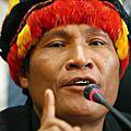 LES <b>PEUPLES</b> <b>INDIGÈNES</b> RÉCLAMENT 20 MILLIONS D'HECTARES EN AMAZONIE