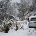 Saint jean de maurienne sous la neige