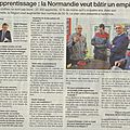 La normandie, terre d'apprentissage...