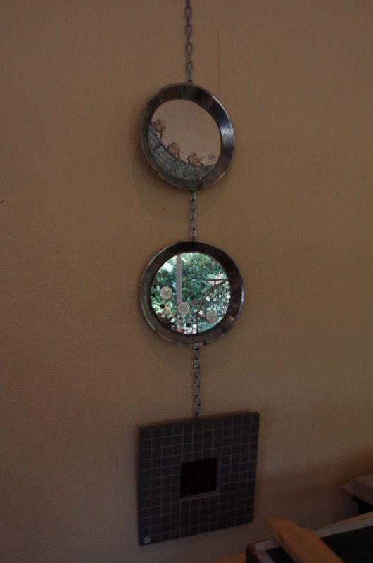 Les miroirs revus par Geneviève