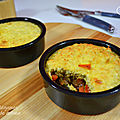<b>Gratin</b> de légumes aux flocons de quinoa