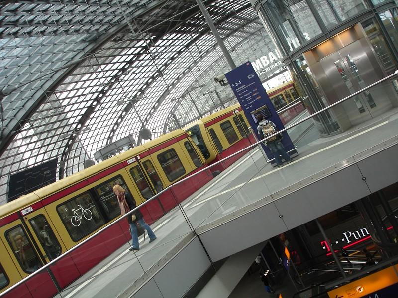 Hauptbahnhof : Quai S-Bahn