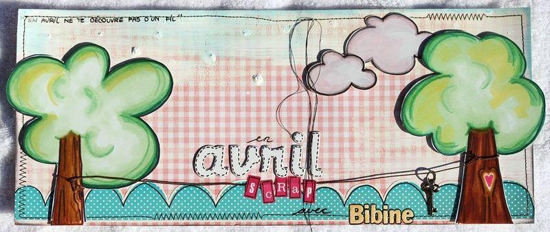 Bibine sketch Avril 2011 des Poulettes