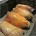 Gratin de chicon au saumon fumé.