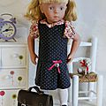 Le défi de vaniline, # 9 la robe taille basse à plis creux