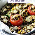 Légumes farcis au haggis