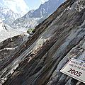 Chamonix, la Mer de Glace, sentier, 2005 (74)