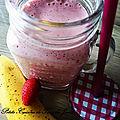 Smoothie Vegan Fraise <b>Banane</b> 🍓🍌 et graines de Chia