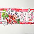 LOVE, une page par Victor