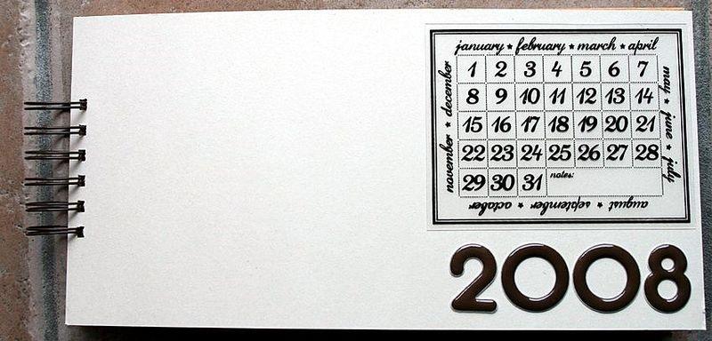 album mois après mois année 2008