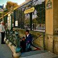 Station Tuileries ligne 1.