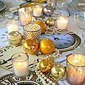 Déco de table pour le Nouvel An
