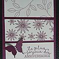 Carte anniversaire pour marie-laure