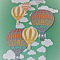 Cadre montgolfières...