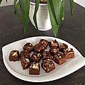 Fondant au chocolat caramel