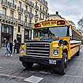 School bus International Harvester