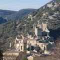 saint montan - village médiaval et son chateau -