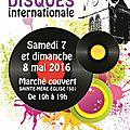 Salon du disque sainte mère (50) - bourse collection disques vinyles & cd - convention le 7 et 8 mai 2016