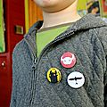 Lubin est fan de dragons #3 - les badges
