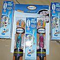 On garde toutes ces dents avec les brosses à dents électriques spinbrush proclean et my way {test}