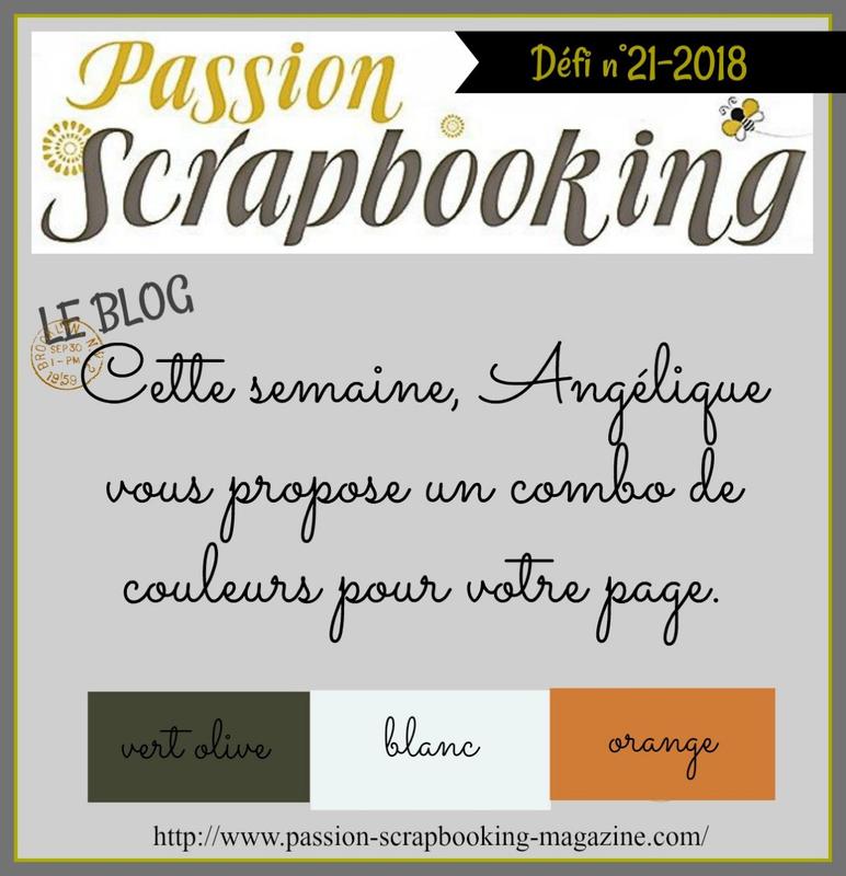 défi 21-2018 Angélique COMBO