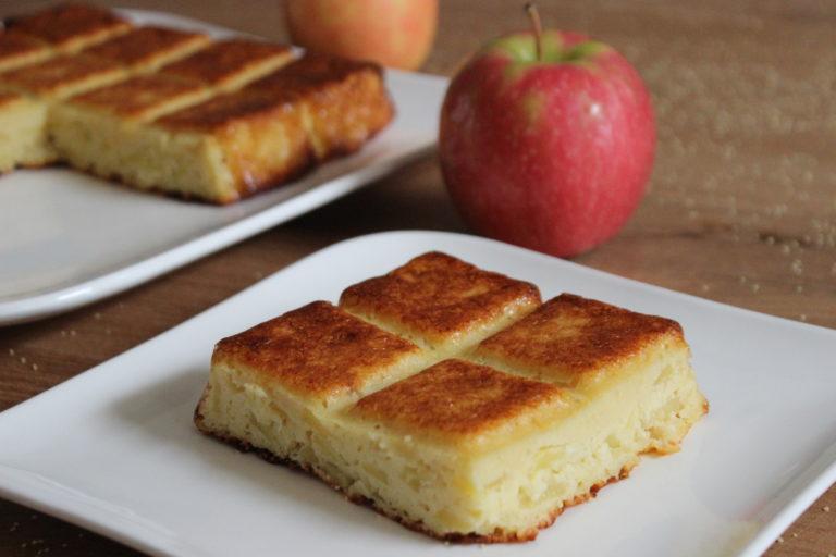 Gateau à la semoule & aux pommes