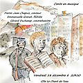 Madeleine et les 2 Jeannot, récit musical au <b>Sappey</b> en Chartreuse