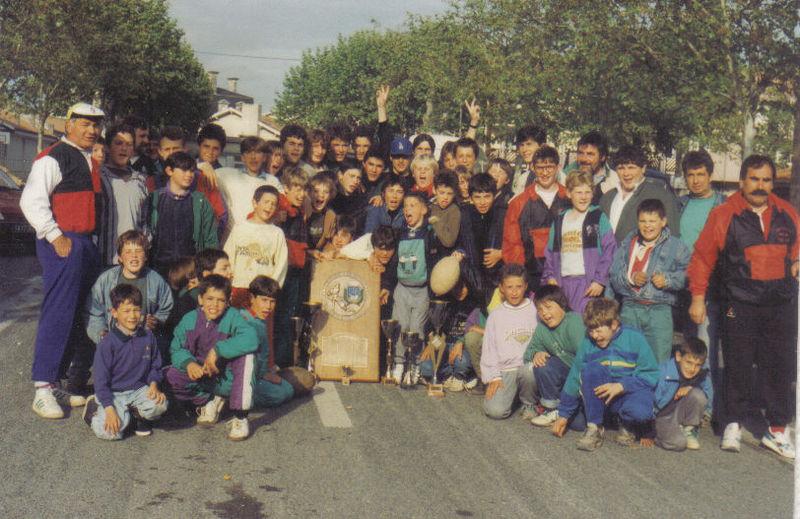 Mai 91, retour triomphal de Libourne
